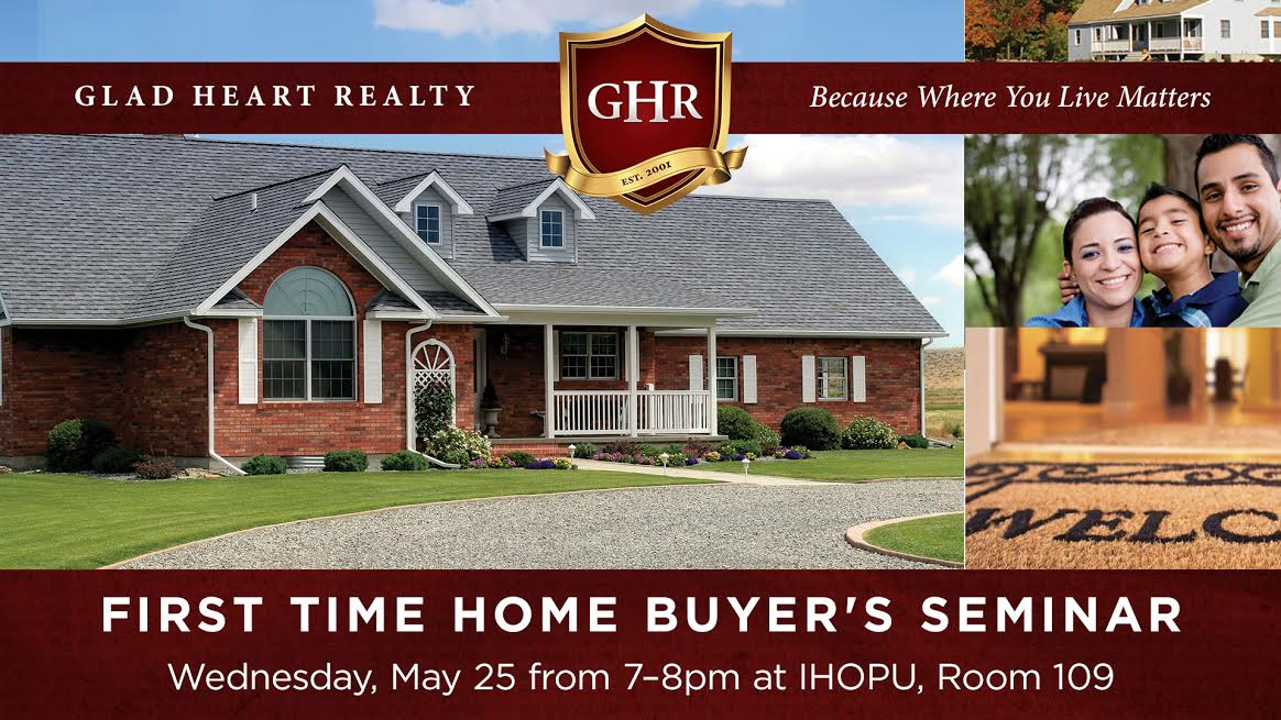 First time home buyer s seminar